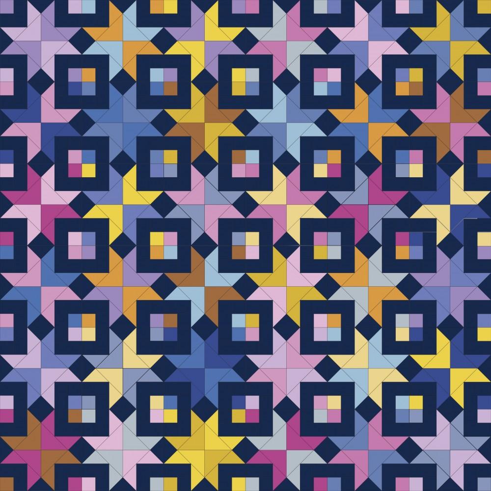 Bronte's Stars Quilt Pattern by Emm Jean Jansen