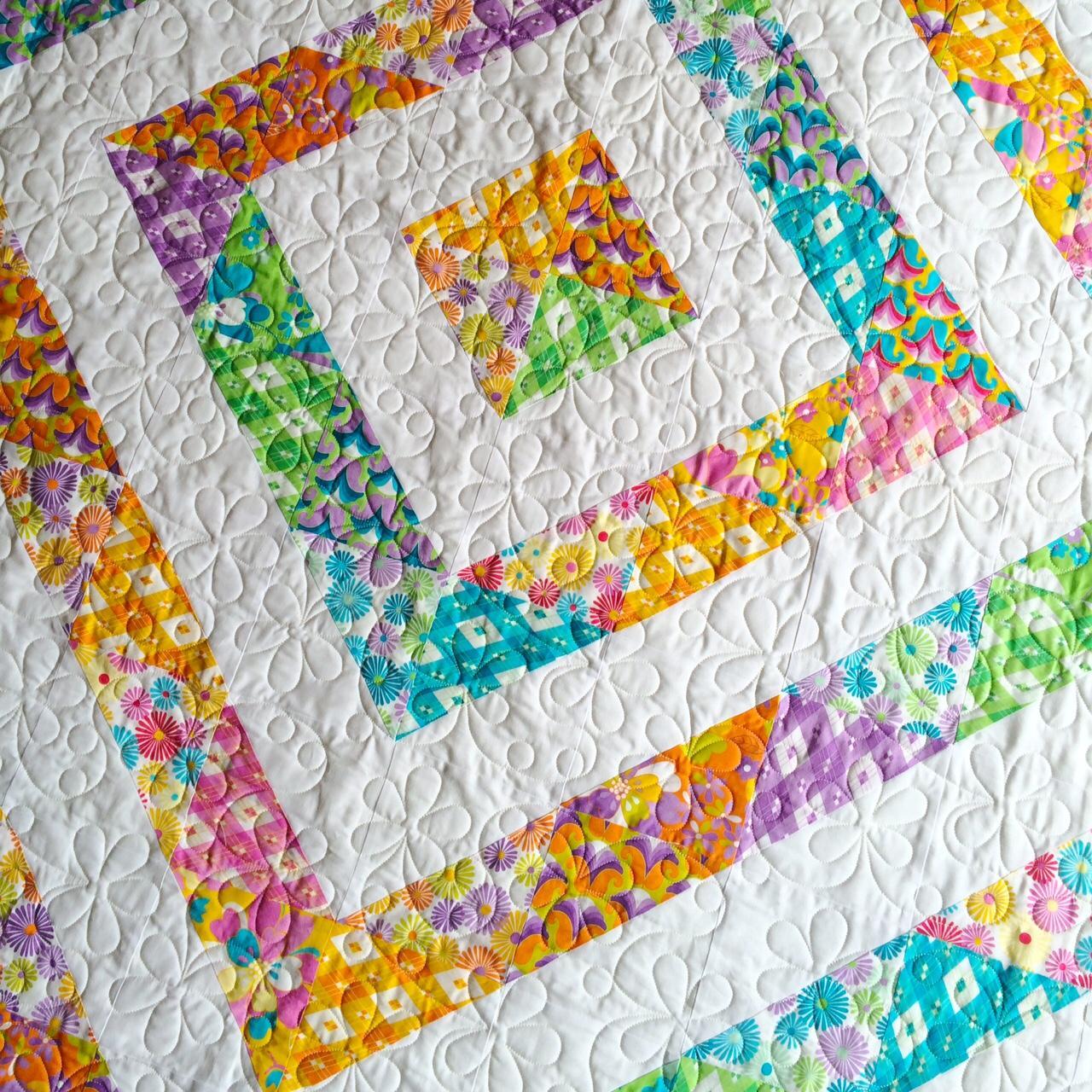 60's Scrapbag Bella's Quilt