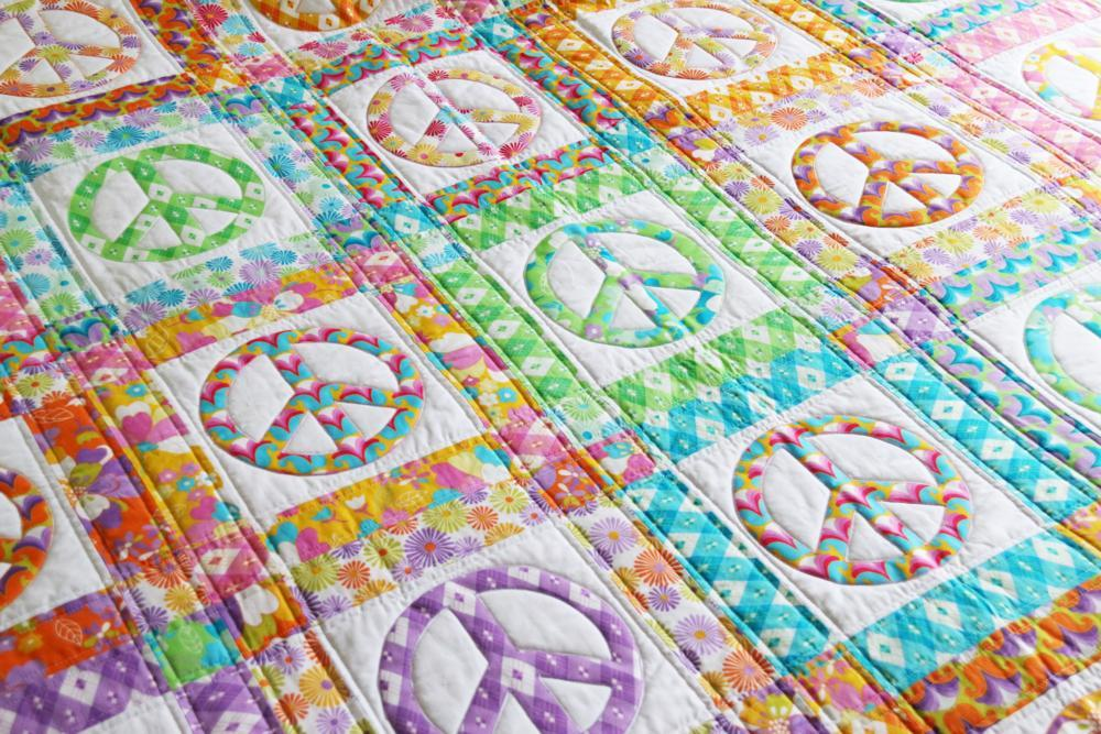 Peace Quilt by emma jean jansen