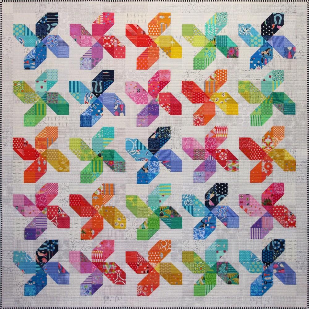Whirligig Quilt Pattern by Emma Jean Jansen