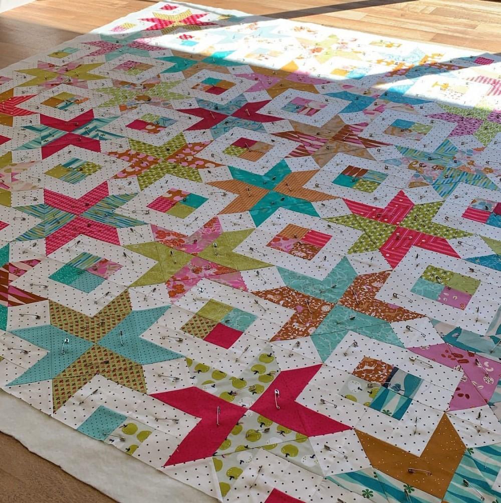 Bronte's Stars Quilt Pattern