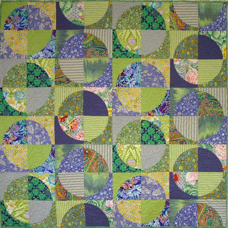 Lime and Soda Quilt Pattern by Emma Jean Jansen