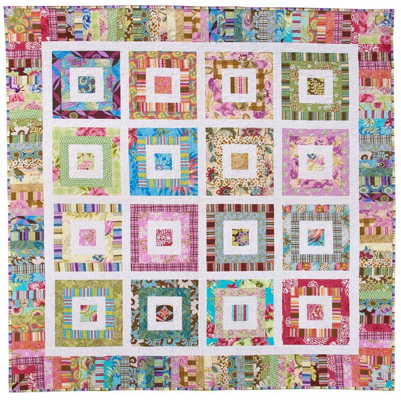 Funky Scrap Quilt Pattern by Emma Jean Jansen