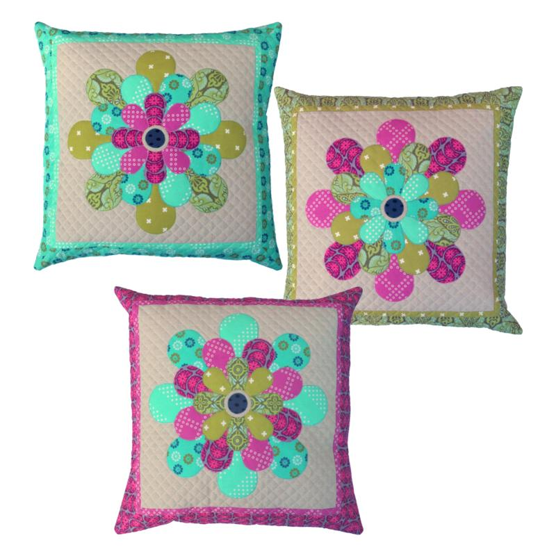Petal Cushions Pattern by Emma Jean Jansen