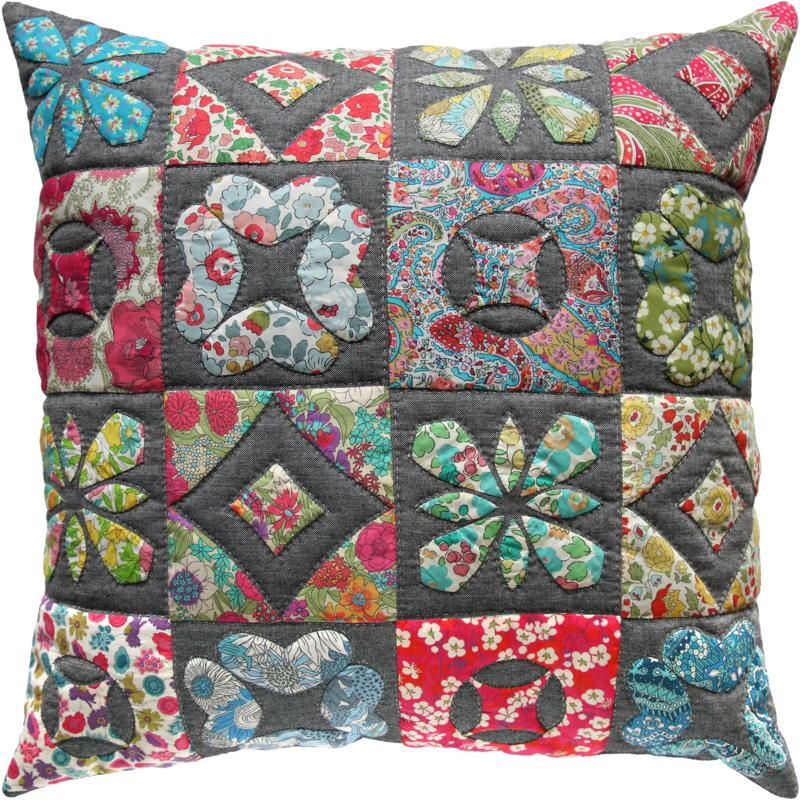 Lovely Liberty Cushion Pattern by Emma Jean Jansen