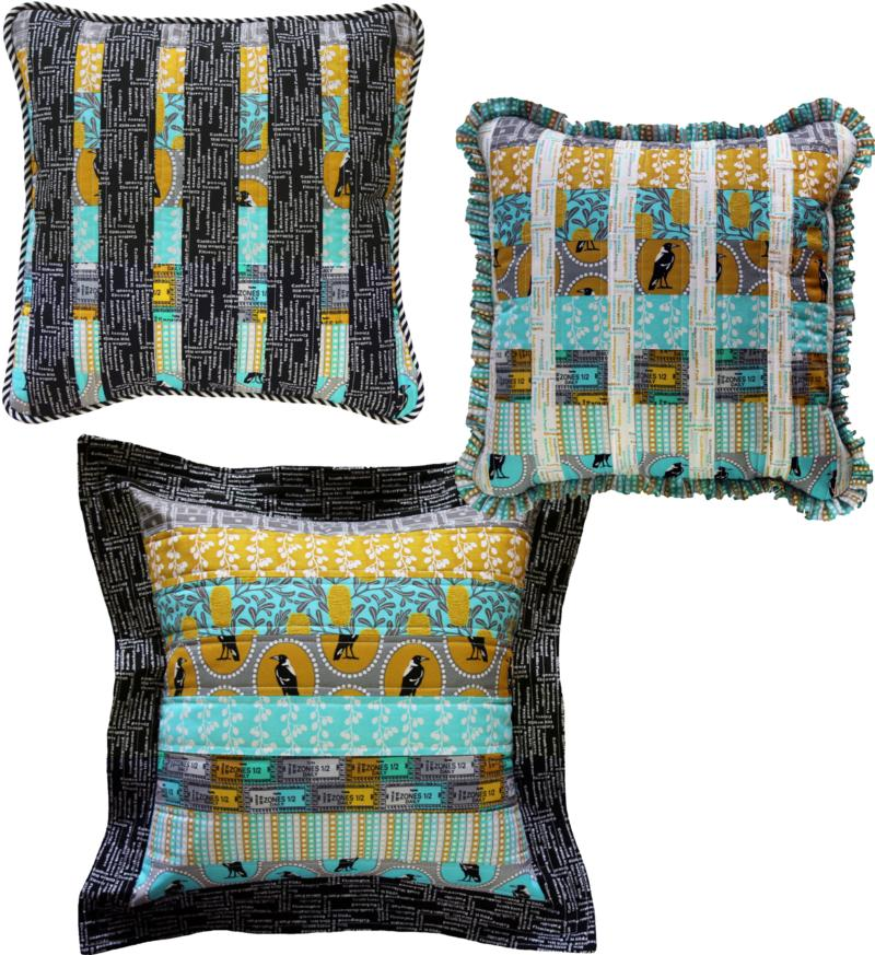 Three Cushions Pattern by Emma Jean Jansen