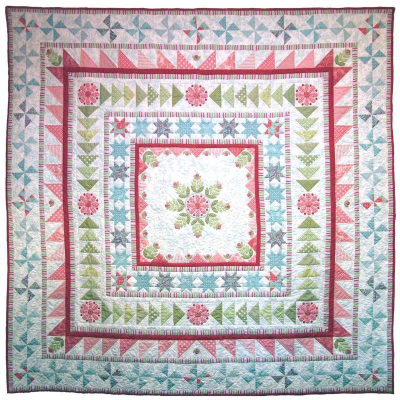 Snowflake Medallion Quilt Pattern by Emma Jean Jansen