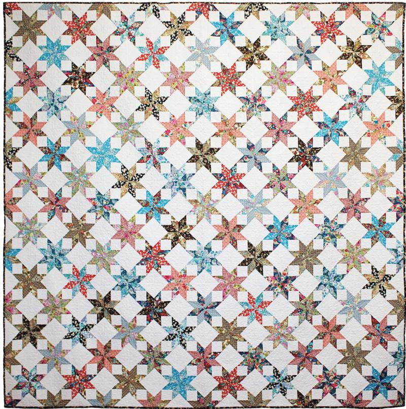 Liberty Stars Quilt Pattern by Emma Jean Jansen