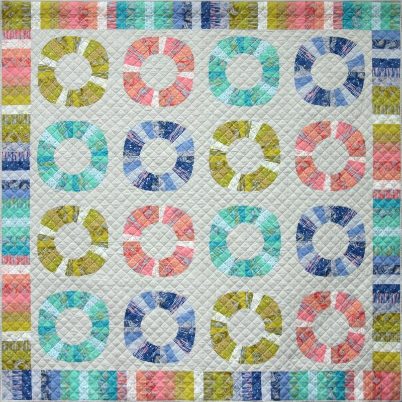 Wheels of Fortune Quilt Pattern by Emma Jean Jansen