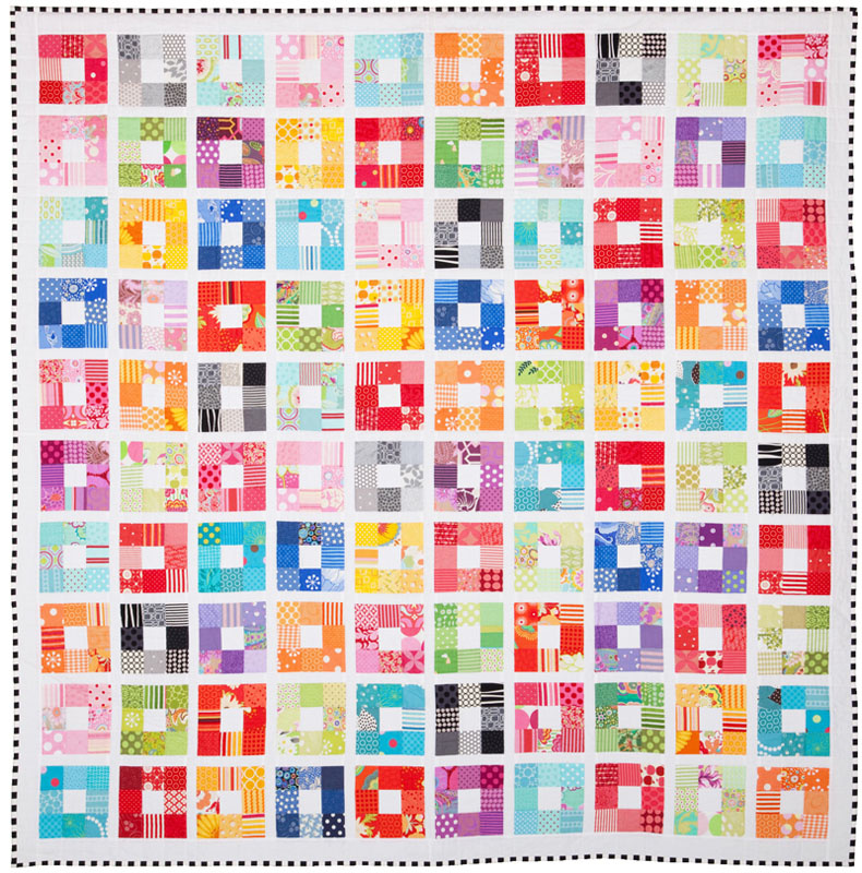 Colour Squared Creative Card Pattern by Emma Jean Jansen