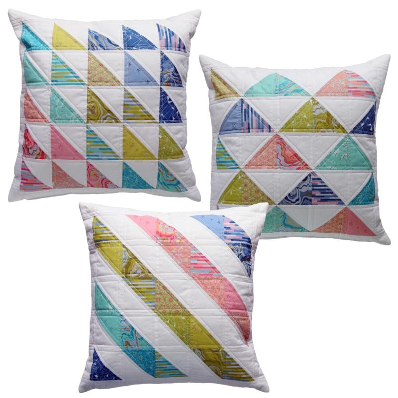 Triple Triangles Cushion Pattern by Emma Jean Jansen