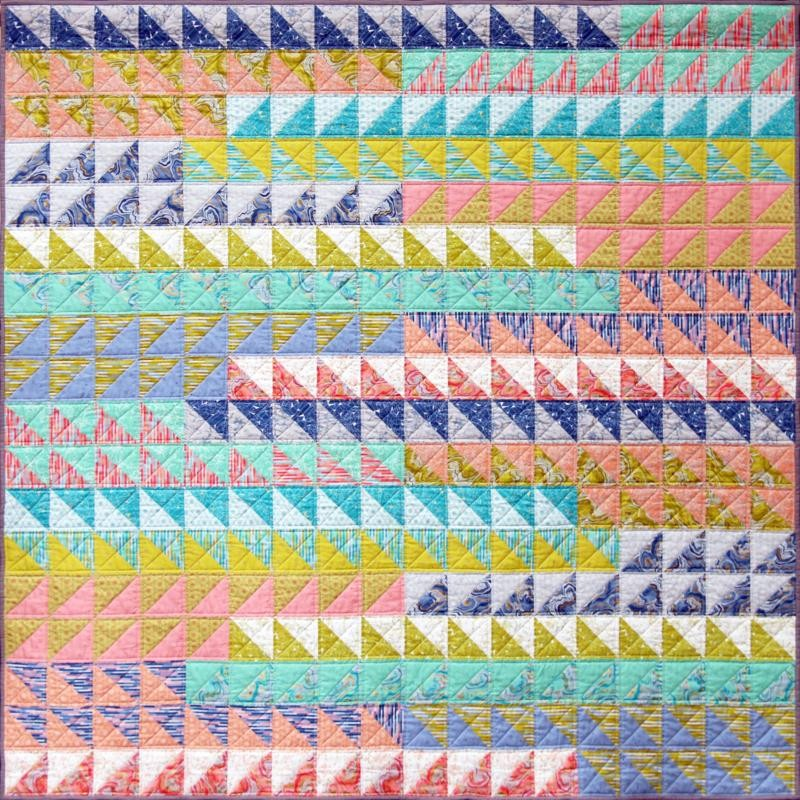 Go with the Flow Quilt Pattern by Emma Jean Jansen