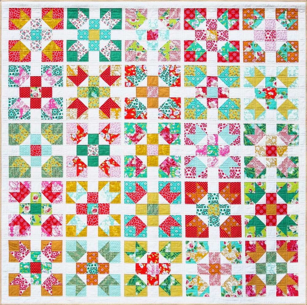 Kiss Goodnight Quilt Pattern by Emma Jean Jansen