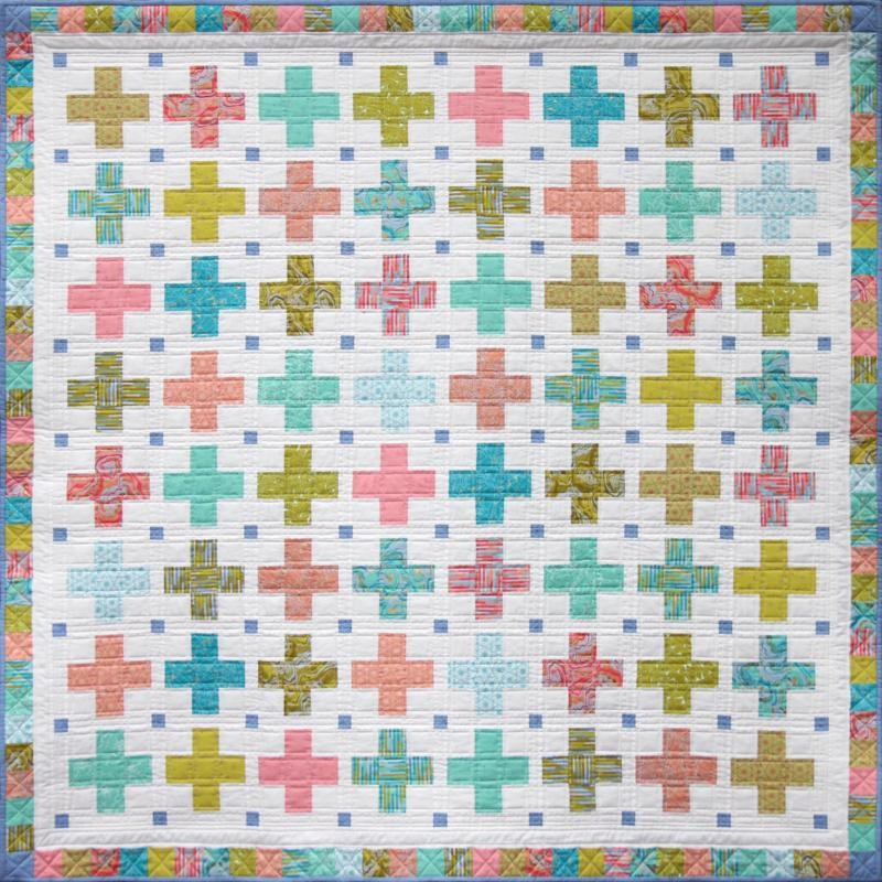 Little Crosses Quilt Pattern by Emma Jean Jansen