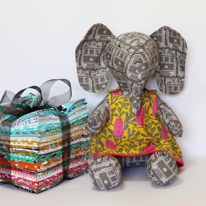 Melba Elephant by Jodie Ricrac