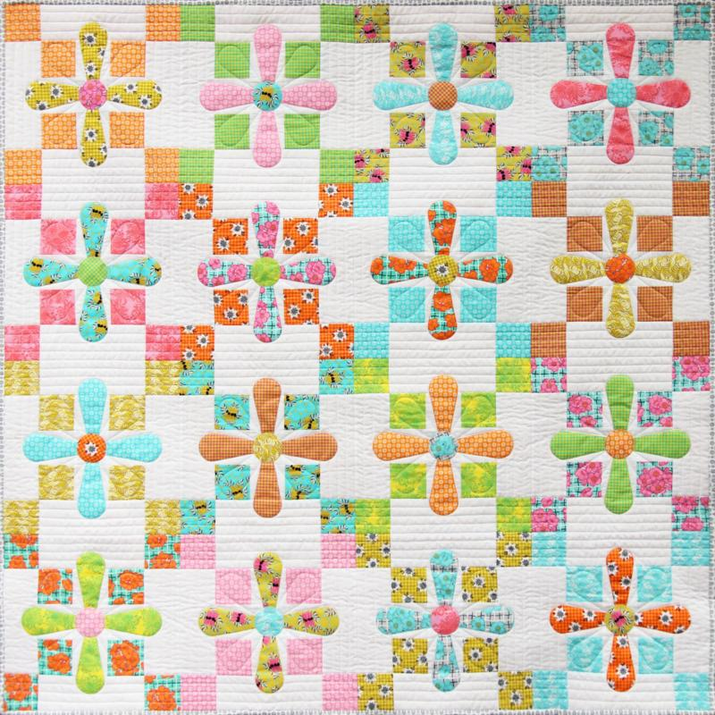 Outback Blossoms Quilt Pattern by Emma Jean Jansen
