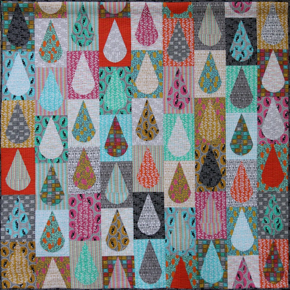 Raindrops Quilt by Emma Jean Jansen from By the Bundle
