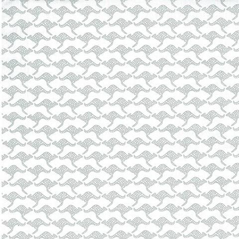 Kangaroos - White/Silver