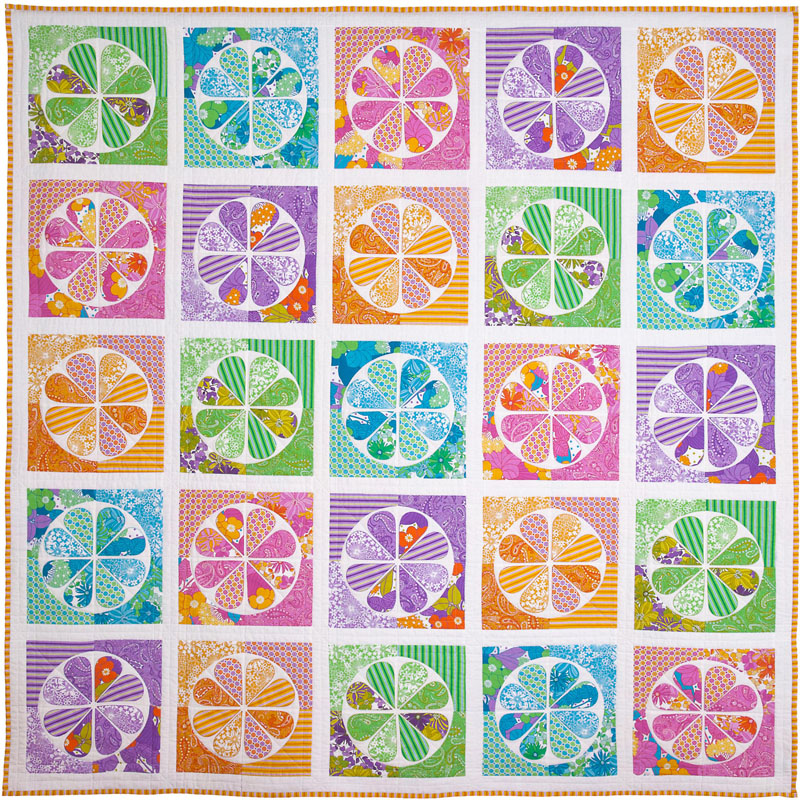 The Daisy Quilt Pattern Pattern by Emma Jean Jansen