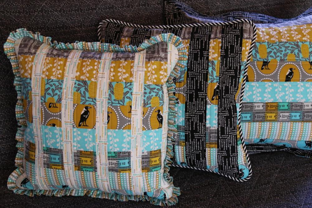 Three Cushions by Emma Jean Jansen