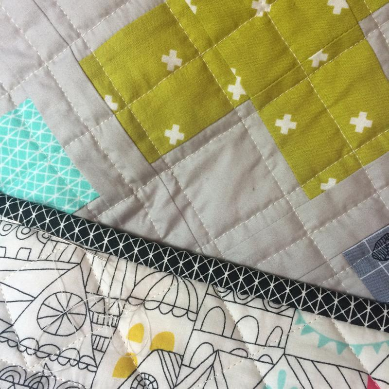 Little Crosses Quilt  by Emma Jean Jansen