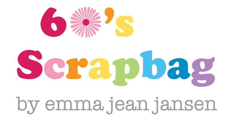 60''s Scrapbag by emma jean jansen