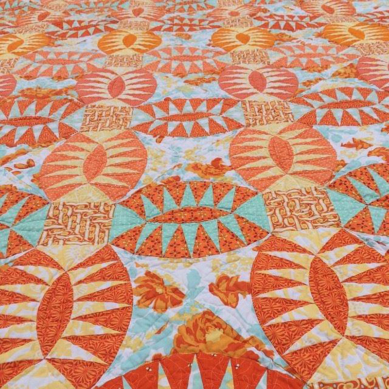 Pickled Orange Peel Quilt by Emma Jean Jansen