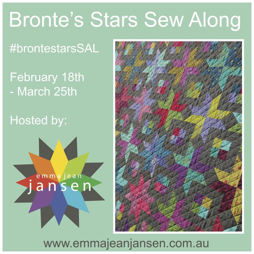 Bronte's Stars Sew Along