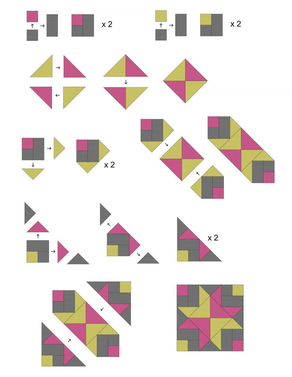 Brinte's Stars Quilt Pattern by Emma Jean Jansen