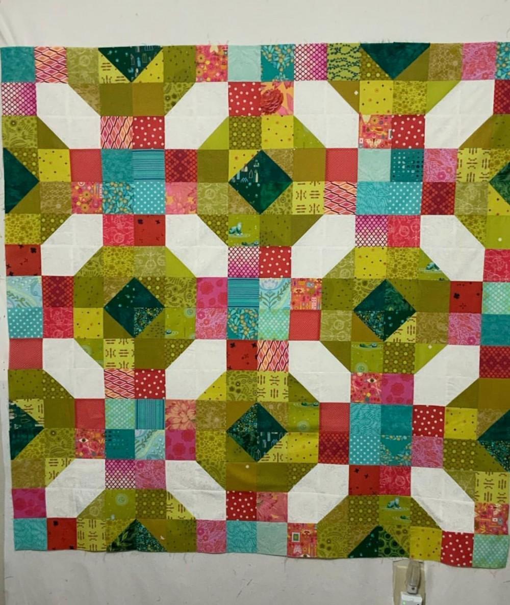 Wake Me Up Quilt Pattern by Emma Jean Jansen
